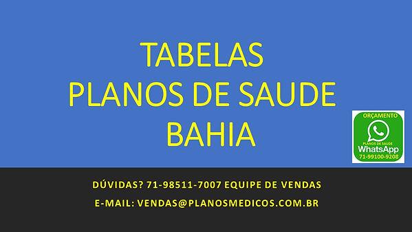 Plano e Saude na Bahia
