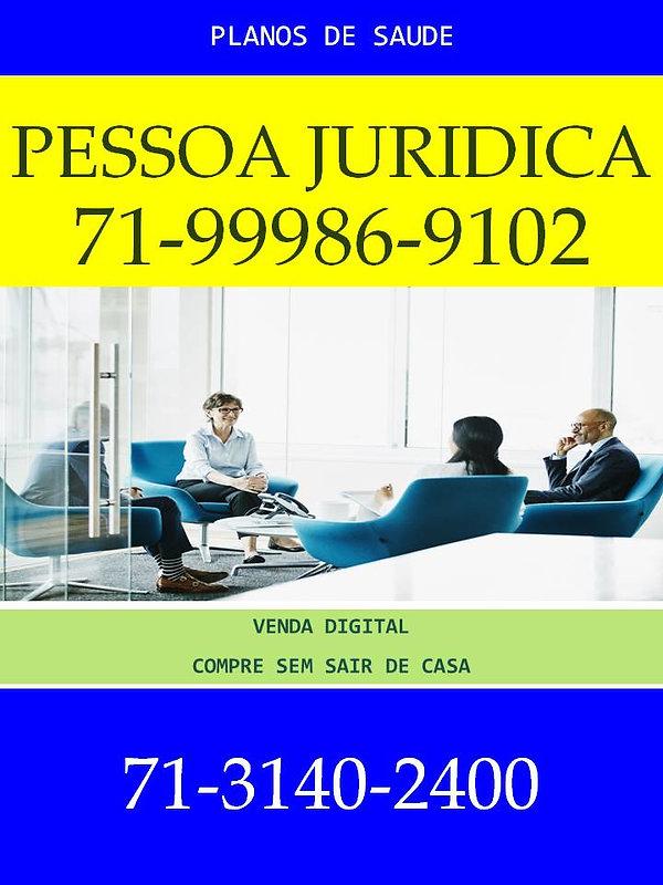 PESSOA JURIDICA PLANO DE SAUDE