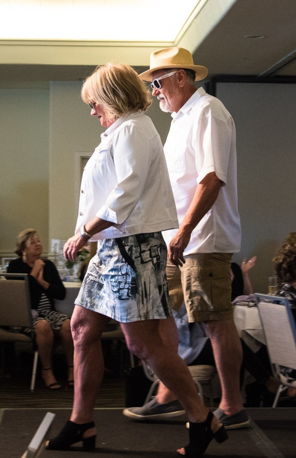 Keith and Mary strutting their stuff!