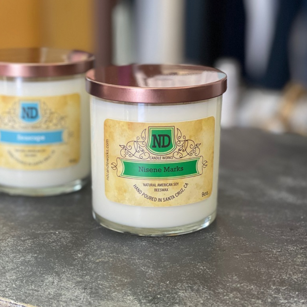 Thrilled to be partnering with Santa Cruz's own ND Candle Works