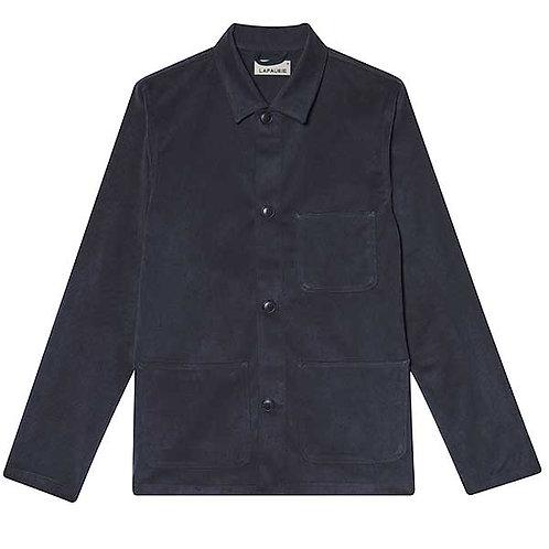 rebrand painter coat bleu gris