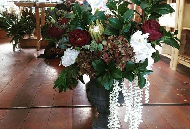 Faux Flora Arrangement