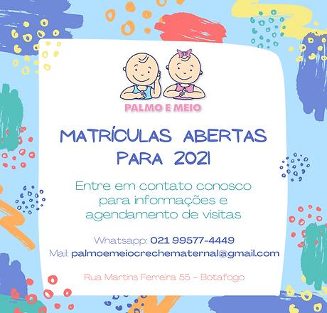 Matrículas Abertas Para 2021.png