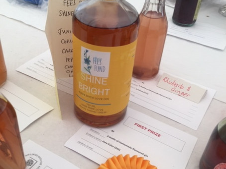 Shine Bright Gin wins 1st prize