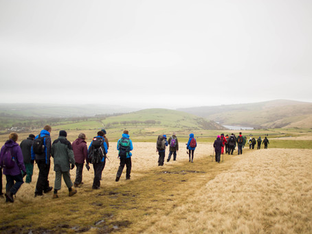 Walking the Yorkshire Three Peaks in May, to publicise Fi's Enrichment Education Support (FEES) fund