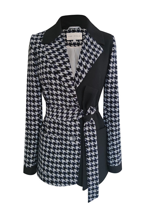 Crowbar Patchwork Blazer Jacket