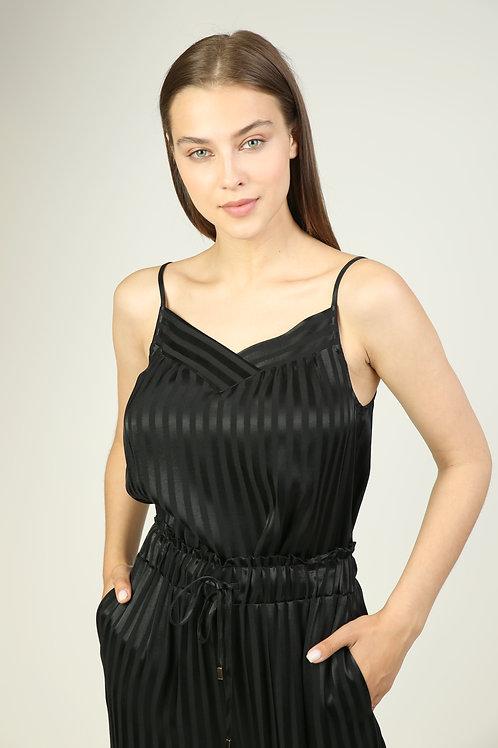 viskon ayarlanabilir askılı bluz