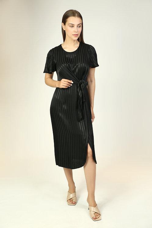 vizkon bağlama detaylı elbise