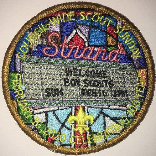 2020 Scout Sunday Patch
