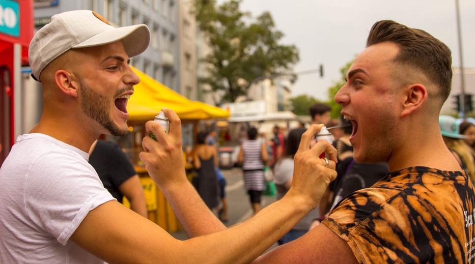 AERO drinks Cocktails Spray Fun Guys