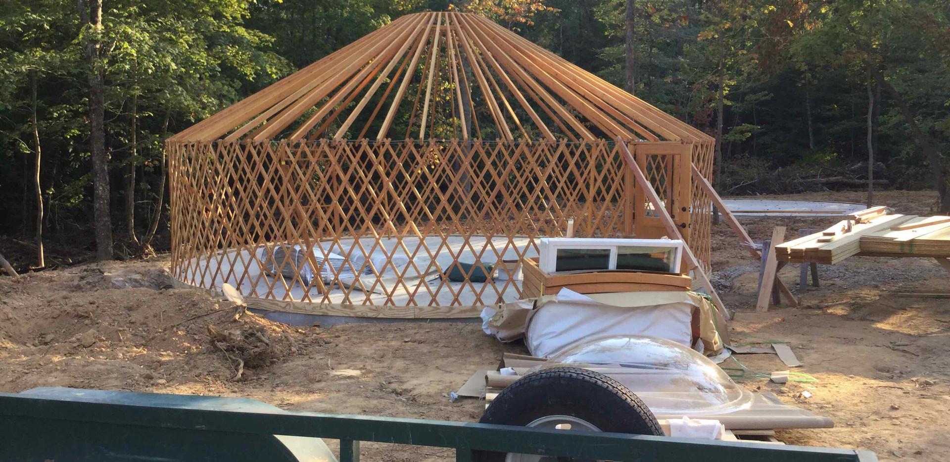 Yurt Construction - View 4