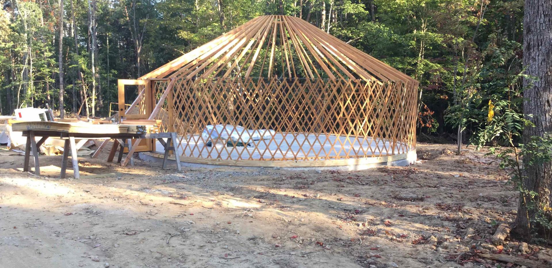 Yurt Construction - View 5