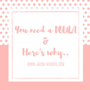 You need a DOULA & here's why 💕