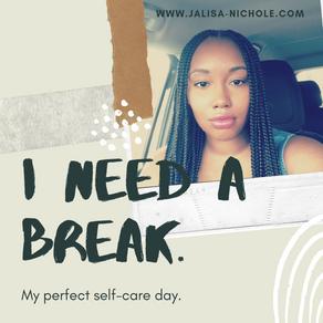 I need a break! Blogtober Day 2