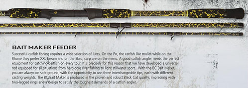 BlackCat Caña Feedeer Bait Maker Feeder