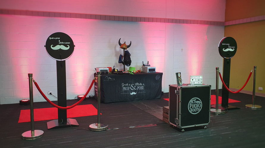 ACT Photo Booth - Two-Booth Setup
