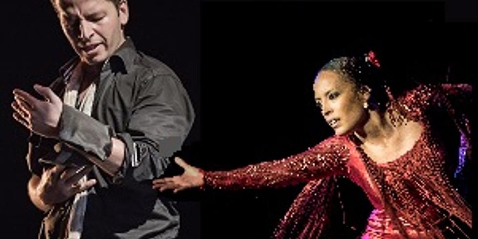 Tablao Flamenco : Kuky Santiago, Ana Pérez, Antonio Segura y Esteban Murillo