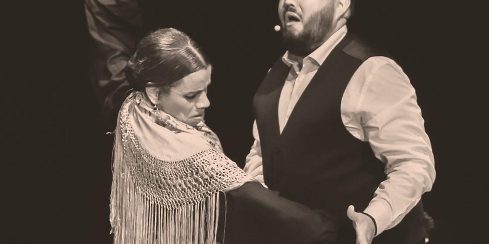 Tablao flamenco avec La Zambra et El Carru au Festival Andalucia