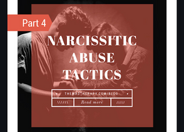 Narcissistic Families: The Abuse Tactics