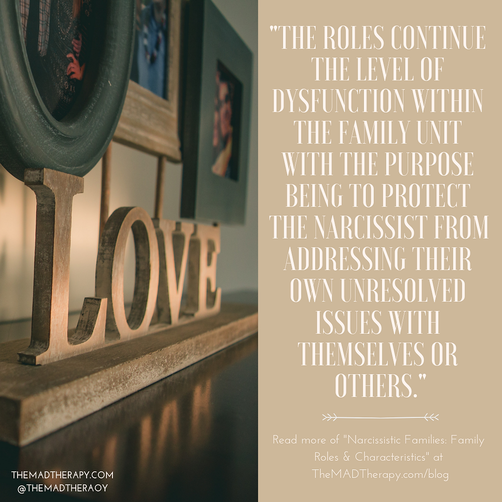 A table with the word love on it. In narcissistic families love is conditional. If this is something you see in your family please seek out mental health services to begin healing from the abuse