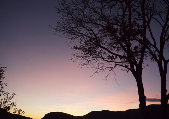 Les couchers de soleils