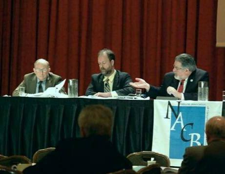 Brett Weiss, Dan Press, the Hon. Robert Gerber