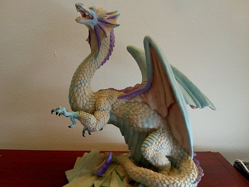 Grawlfang the winter dragon side view