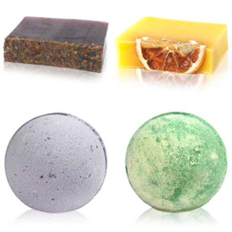 Soaps and Bath Bombs Set
