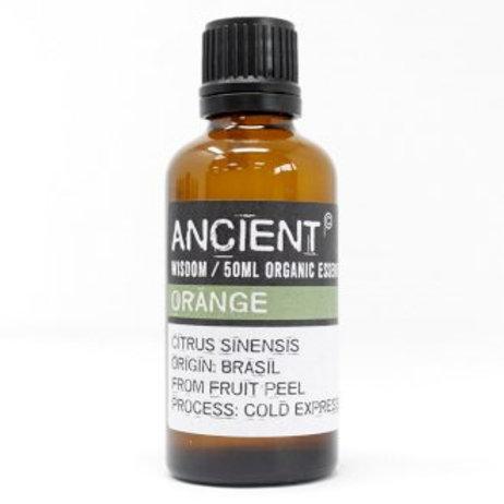 Orange Organic Essential Oil 50ml Bottle