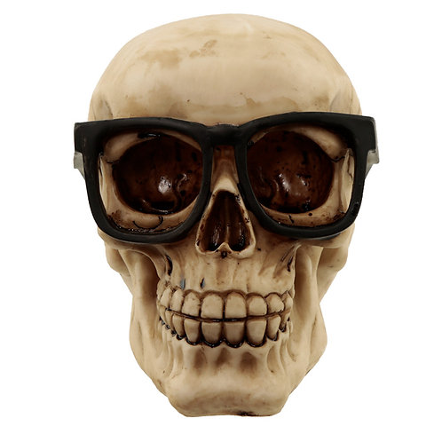 Fantasy Skull Wearing Glasses