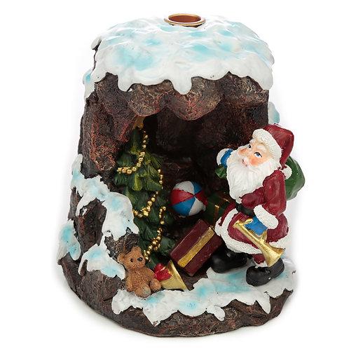 Backflow Incense Burner - Christmas Santa's Grotto