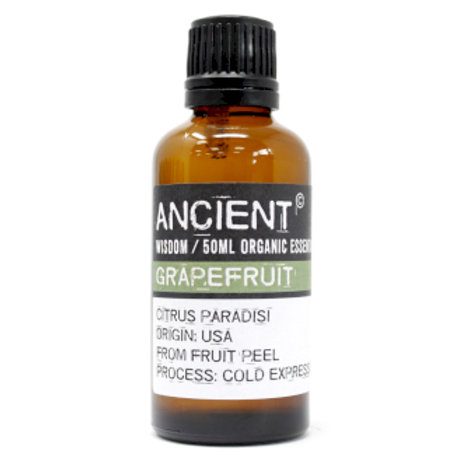 Grapefruit Organic Essential Oil 50ml Bottle
