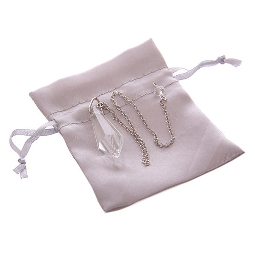 Crystal Pendulum with Gift Pouch and Box