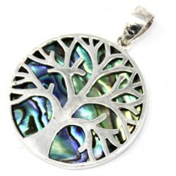 Tree of life Silver Pendant 30mm