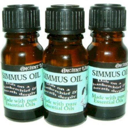 3 bottles of Simmus Essential Oil