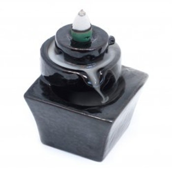 Backflow Incense Burner-Round to Square