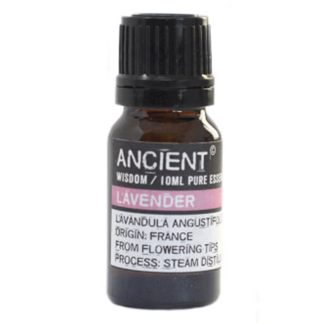 10 ml Lavender Essential Oil Front View of Product