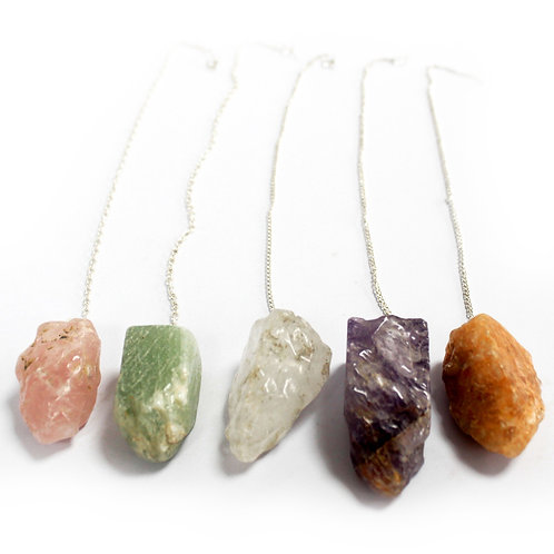 Natural Stone Pendulums - Assorted
