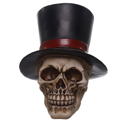 Gothic Wedding Day Skull Groom