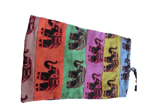 Elephant Print Mat Bags