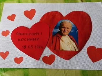 Serce dla Jana Pawła II- 100-lecie urodzin