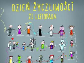 21 listopada -  Światowy Dzień Życzliwości i Pozdrowień