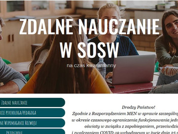 Zdalne nauczanie w SOSW
