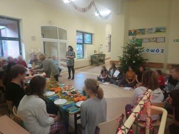 Spotkanie świąteczne na oddziale XIIa
