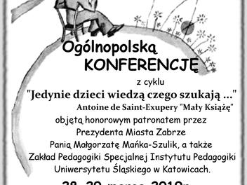 Ogólnopolska Konferencja dla szkół przyszpitalnych w Zabrzu