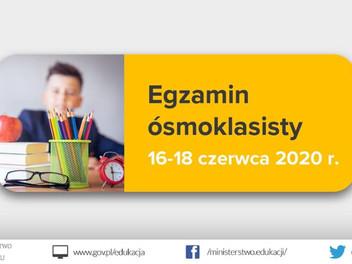 Egzamin Ósmoklasisty!
