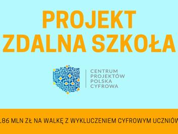 """Nasz Ośrodek w projekcie """"Zdalna szkoła"""""""