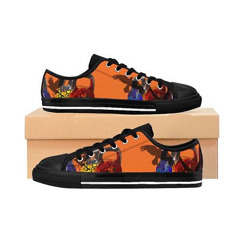 Kettlebell fly Women's Sneakers - orange