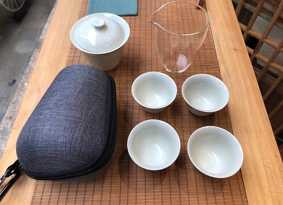 旅行茶具套裝 便攜包式戶外旅遊茶具