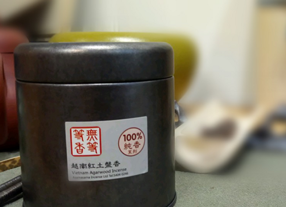 100%純香系列: 越南紅土盤香(16片裝)